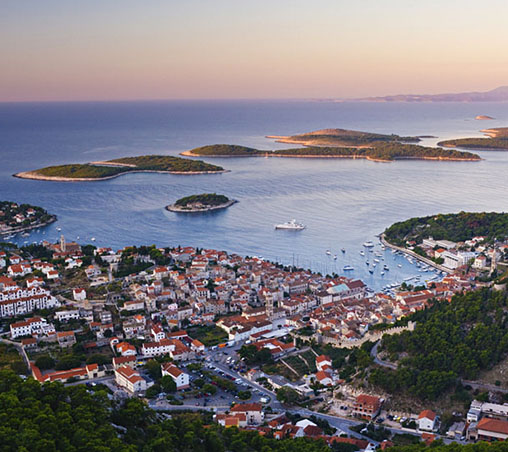 Hvar, Pakleni Islands & Brač